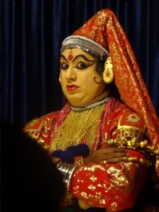 Kathakali Tänzer Kerala