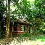 Haus der Näherei im BASIS Camp Kerala