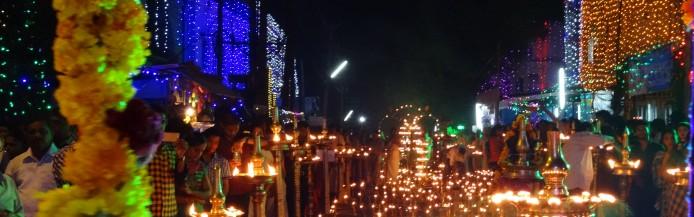 Tempelfeste Kerala