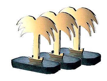 Goldene Palmen